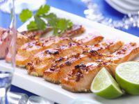 Roasted Salmon Slices recipe