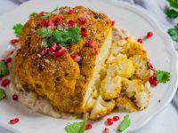 Roasted Spiced Turmeric Cauliflower recipe