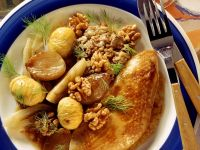 Roasted Turkey with Chestnut Stuffing recipe