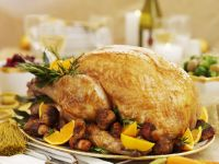 Roasted Turkey with Stuffing recipe