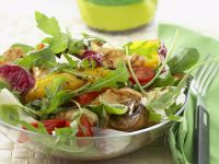 Roasted Vegetable Salad with Chicken Breast recipe