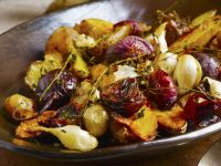 Roasted Vegetables with Garlic and Thyme recipe