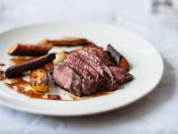Roasted Venison with Carrots recipe