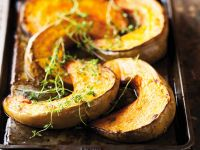 Roasted Winter Squash with Thyme recipe