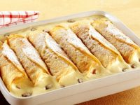 Rolled and Filled Pancakes recipe