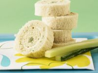 Rolled Egg Finger Sandwiches recipe
