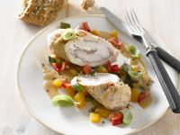 Rolled Turkey Breast with Vegetables recipe