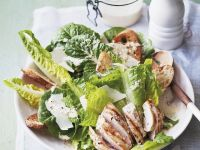Romaine Lettuce Salad with Chicken Breast recipe