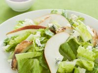 Romaine Lettuce with Chicken, Pear and Blue Cheese recipe