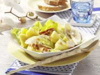 Romaine Salad with Chicken Breast and Pineapple recipe