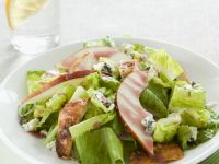 Romaine Salad with Chicken, Pears and Roquefort Cheese recipe