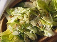 Romaine Salad with Parmesan, Fennel and Pine Nuts recipe