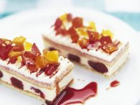 Roman Gateau Slice recipe