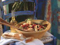 Romaneso, Sun-Dried Tomato and Cactus Salad