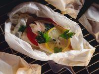 Rose Fish En Papillote recipe