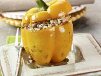 Rose Veal Stuffed Peppers recipe