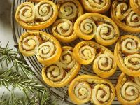 Rosemary and Bacon Palmiers recipe