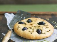 Rosemary and Olive Focaccia recipe