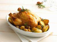 Rosemary Lemon Chicken with Roast Potatoes recipe