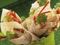 Rotisserie Chicken Wraps recipe