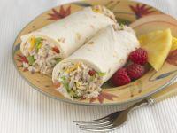 Rotisserie Turkey Wraps recipe