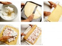 Roulade with Strawberry Cream Filling recipe