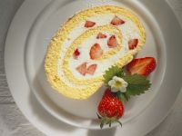 Roulade with Strawberry Filling recipe