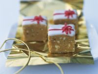 Rum Glazed Blondies recipe