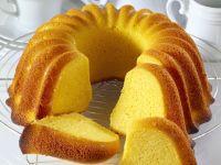 Saffron Bundt Cake recipe