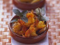 Saffron Prawns with Tomato Sauce recipe