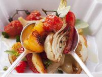 Salad of Roasted Vegetables recipe