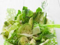 Salad with Artichokes recipe