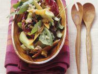 Salad with Avocado and Papaya recipe