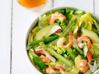 Salad with Avocado and Shrimp recipe