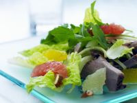 Salad with Beef and Citrus Fruit recipe
