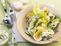 Salad with Boiled Eggs and Capers recipe