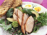 Salad with Chicken Breast recipe