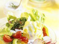 Salad with Creamy Dressing recipe
