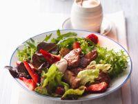 Salad with Crispy Chicken recipe