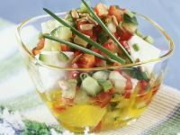 Salad with Feta Cheese recipe
