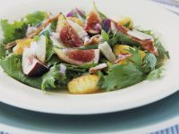 Salad with Gnocchi and Figs recipe