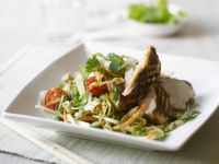 Salad with Grilled Chicken Breast recipe