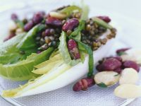 Salad with Lentils and Beans recipe