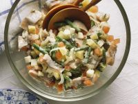 Salad with Pickled Herring recipe
