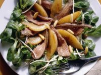 Salad with Rabbit Fillet