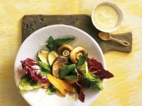 Salad with Roasted Vegetables recipe