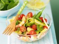 Salad with Shrimp and Avocado recipe