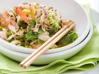 Salad with Shrimp and Chicken recipe