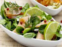 Salad with Smoked Salmon recipe