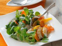 Salad with Turkey and Mango recipe